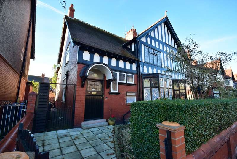 4 Bedrooms Semi Detached House for sale in Park Road, Lytham St Annes, FY8