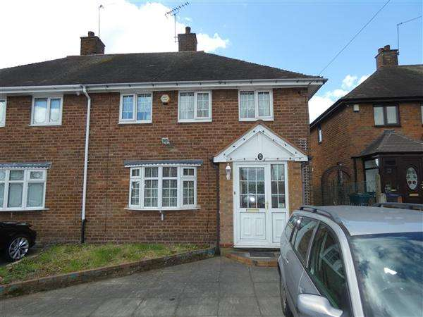 3 Bedrooms Semi Detached House for sale in Hollyfaste Road, Sheldon, Birmingham