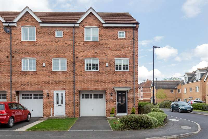 3 Bedrooms End Of Terrace House for sale in Greenacre Close, Gleadless, Sheffield, S12