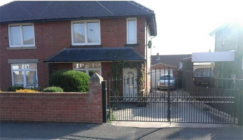 2 Bedrooms Semi Detached House for sale in Stubbs Road, Wombwell, BARNSLEY, South Yorkshire