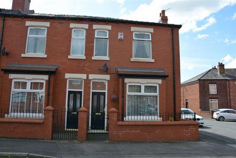 3 Bedrooms End Of Terrace House for sale in Kendal Street, Springfield, Wigan, WN6