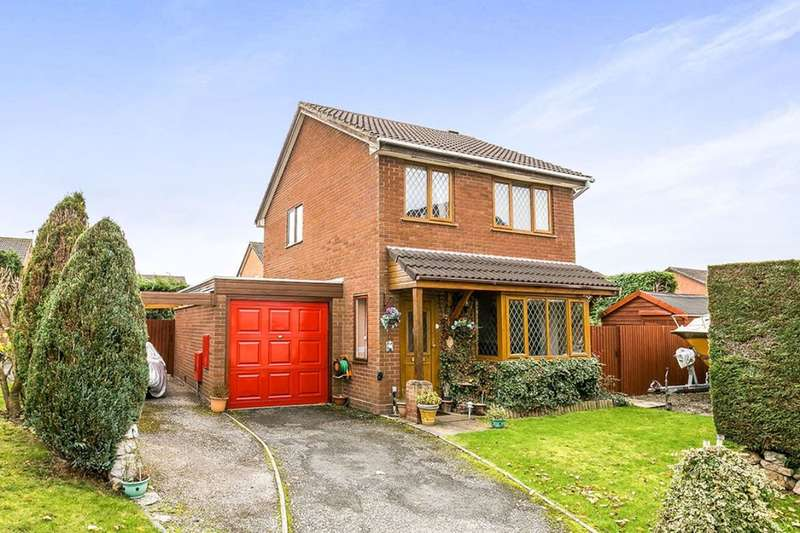 3 Bedrooms Detached House for sale in Campbell Close, Oswestry, SY11