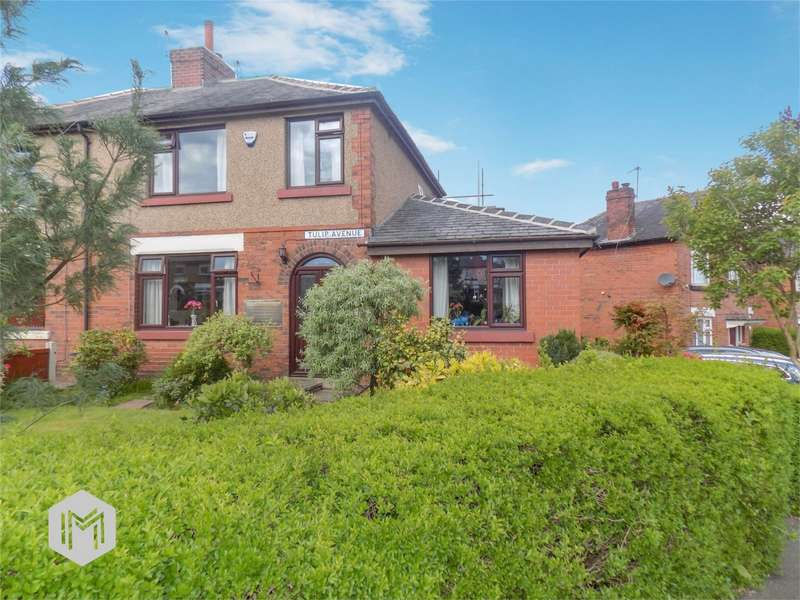 4 Bedrooms Semi Detached House for sale in Tulip Avenue, Farnworth, Bolton, Lancashire