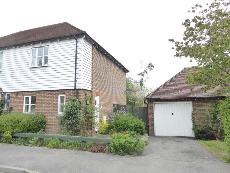 2 Bedrooms End Of Terrace House for sale in Malthouse Way, Cooksbridge