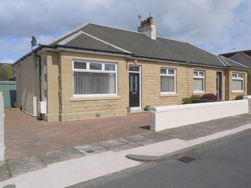 2 Bedrooms Semi Detached Bungalow for sale in Kirkholm Avenue, Ayr, KA8
