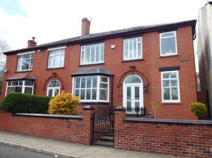 4 Bedrooms Semi Detached House for sale in Station Road, Kearsley, Bolton, Greater Manchester, BL4