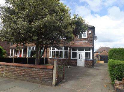 4 Bedrooms Semi Detached House for sale in Urmston Lane, Stretford, Manchester, Greater Manchester