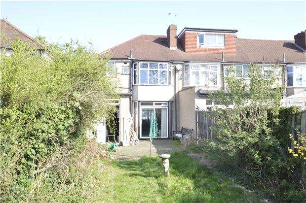 3 Bedrooms End Of Terrace House for sale in Windsor Avenue, NORTH CHEAM, Surrey, SM3 9RY
