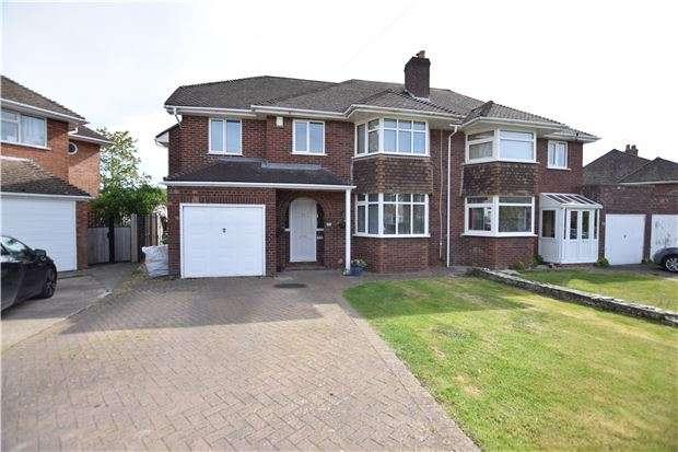 4 Bedrooms Semi Detached House for sale in Tamar Drive, Keynsham, BRISTOL, BS31 1PP