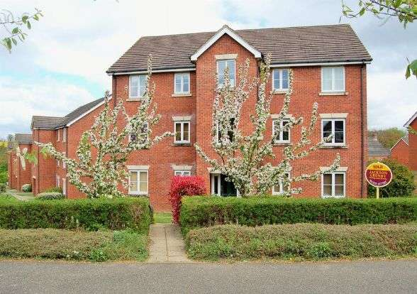 2 Bedrooms Flat for sale in Plough Close, Lang Farm, Daventry NN11 0NX