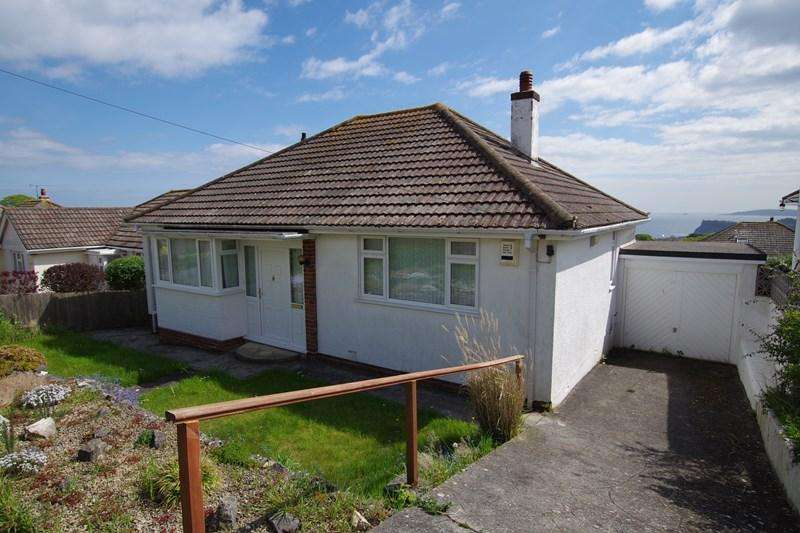2 Bedrooms Detached Bungalow for sale in Hazeldown Road, Teignmouth
