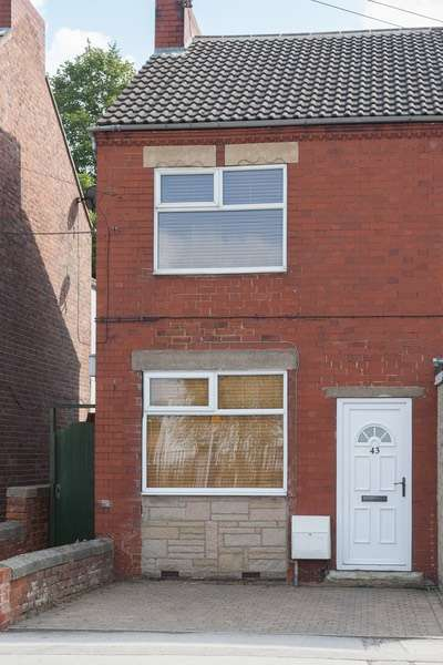 2 Bedrooms Semi Detached House for sale in Ryton Road, North Anston, South Yorkshire, S25