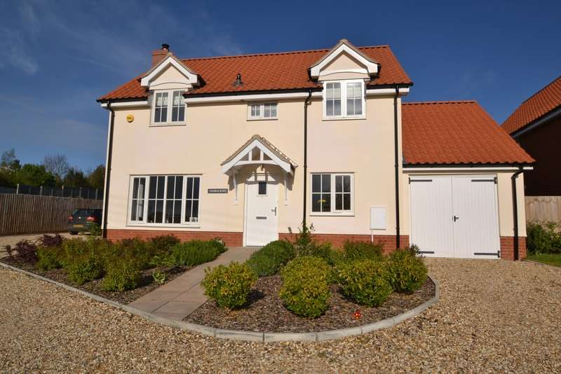 4 Bedrooms Detached House for sale in Low street, Bardwell, Suffolk, IP31