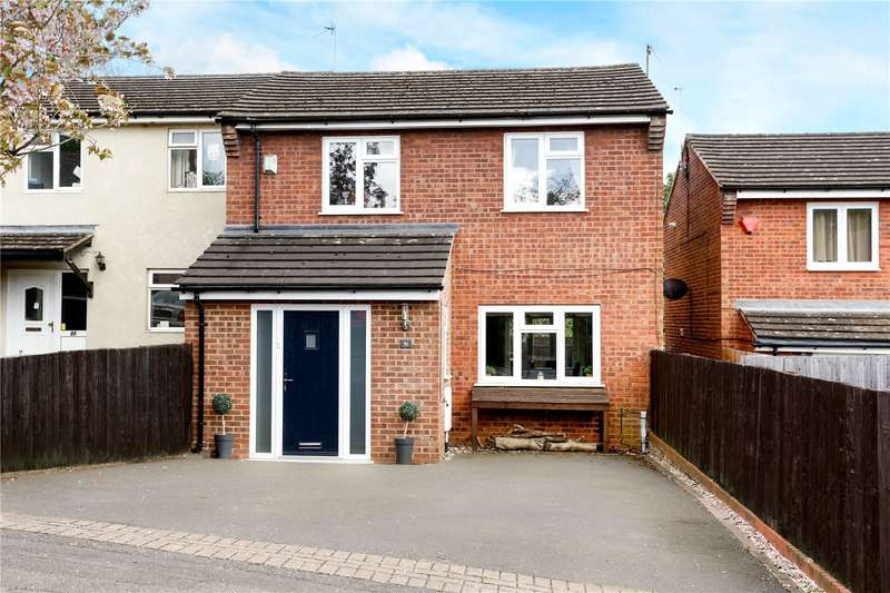 4 Bedrooms Semi Detached House for sale in Quarrendon Road, Amersham, Buckinghamshire, HP7