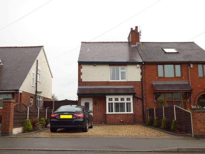 3 Bedrooms Semi Detached House for sale in Ashburton Road, Coalville