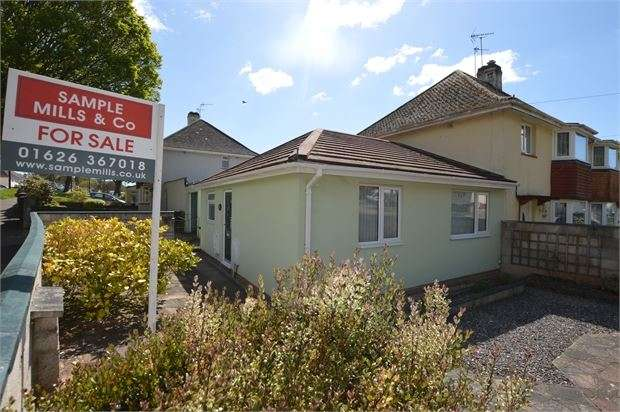 2 Bedrooms Semi Detached Bungalow for sale in Fore Street, Barton, Torquay, Devon. TQ2 8BL
