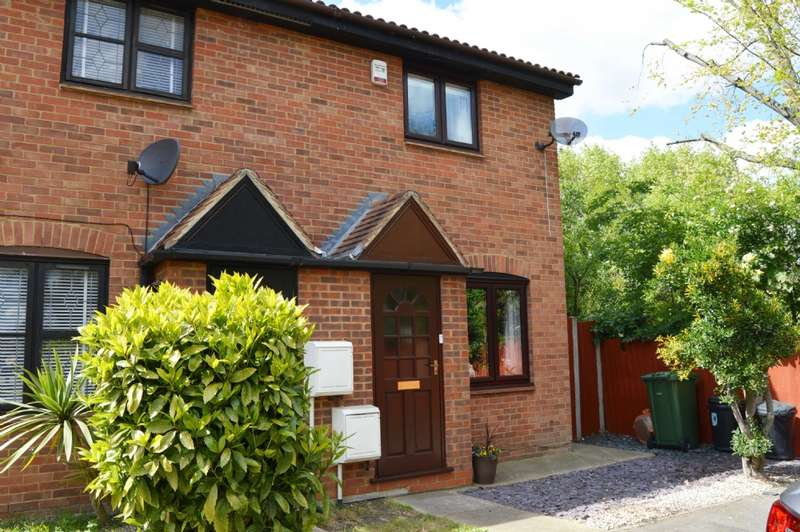 2 Bedrooms End Of Terrace House for sale in Mansard Close, Hornchurch