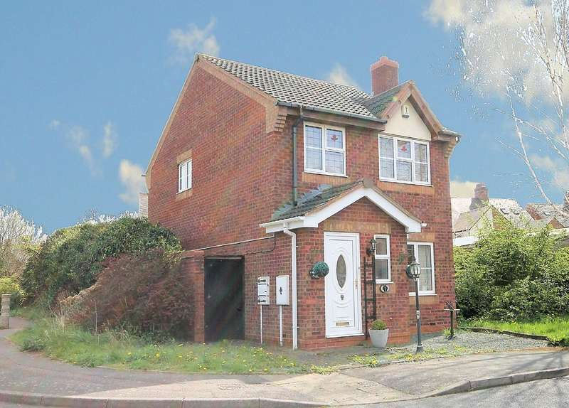 3 Bedrooms Detached House for sale in Caister, Amington, Tamworth, B77 3QB