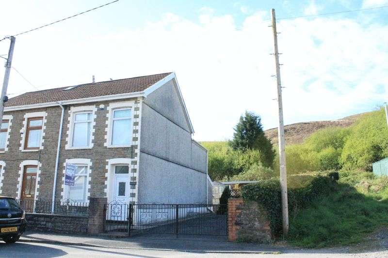 3 Bedrooms Semi Detached House for sale in Min Y Nant - Rear of High Street, Cymer, Porth, CF39 9ER