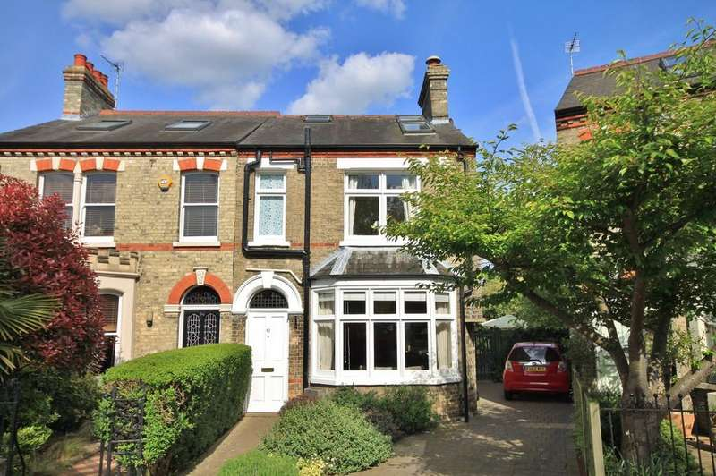 4 Bedrooms Semi Detached House for sale in Victoria Park, Cambridge