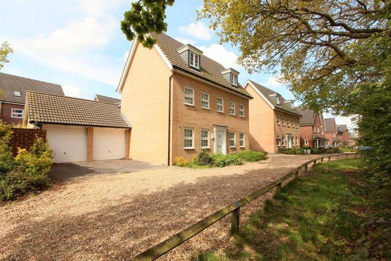 5 Bedrooms Detached House for sale in Budds Close, Hedge End SO30