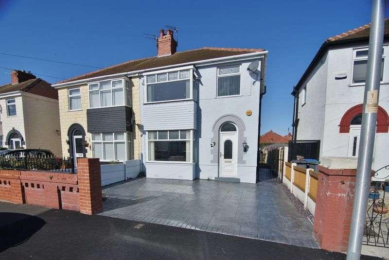 3 Bedrooms Semi Detached House for sale in Willows Avenue, Thornton-Cleveleys, FY5 3AY