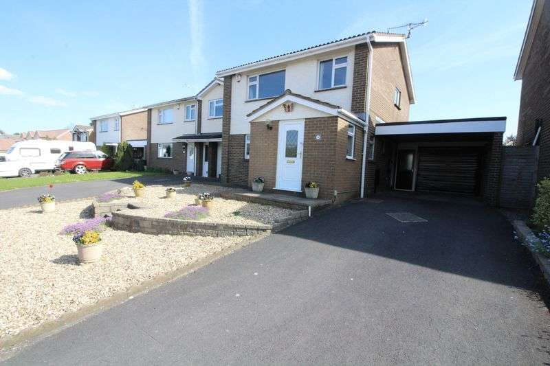 4 Bedrooms Detached House for sale in Leighwood Drive, Nailsea