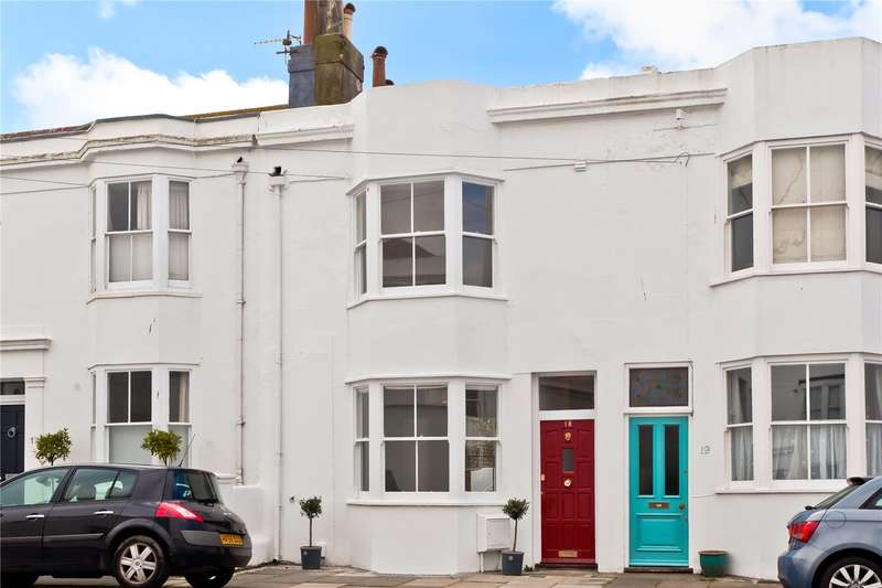 4 Bedrooms Terraced House for sale in West Hill Place, Brighton, East Sussex, BN1