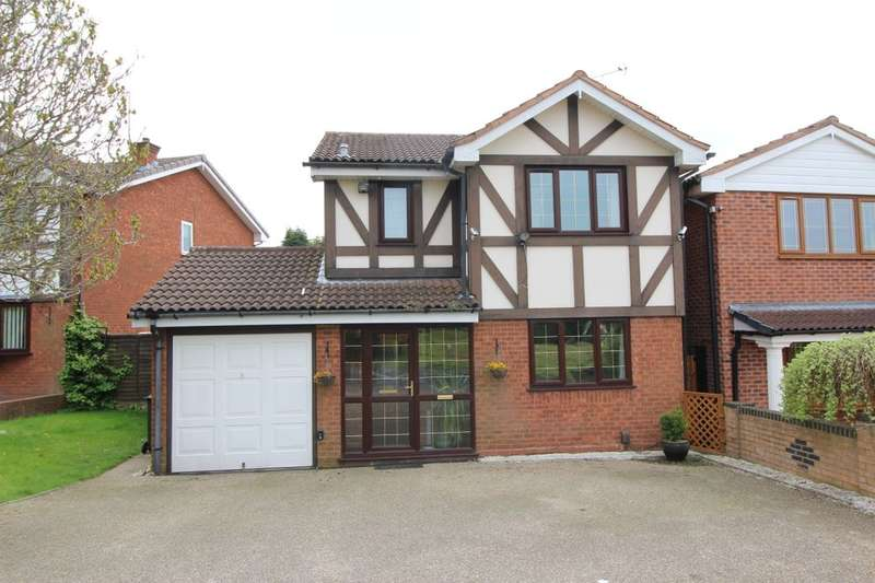 3 Bedrooms Detached House for sale in Kestrel Grove, Willenhall, WV12