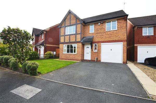 4 Bedrooms Detached House for sale in Jersey Crescent, Lightwood, Stoke-On-Trent