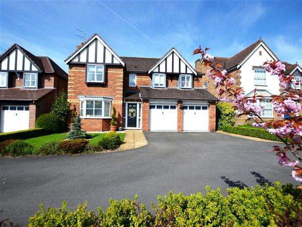 5 Bedrooms Detached House for sale in Bluebell Drive, Seabridge, Newcastle-under-Lyme