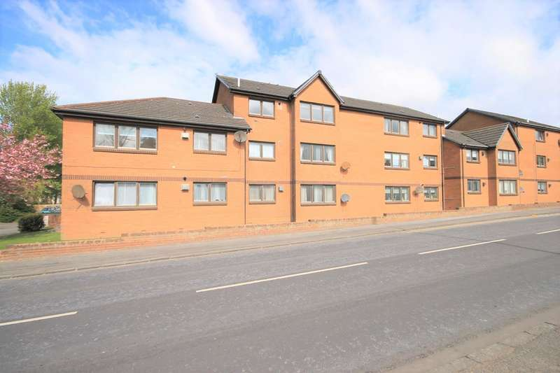 2 Bedrooms Flat for sale in Whittagreen Court, Newarthill