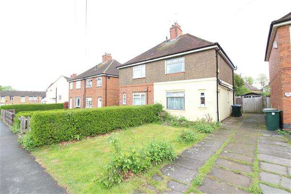 3 Bedrooms Semi Detached House for sale in Mitchell Avenue, Canley, Coventry