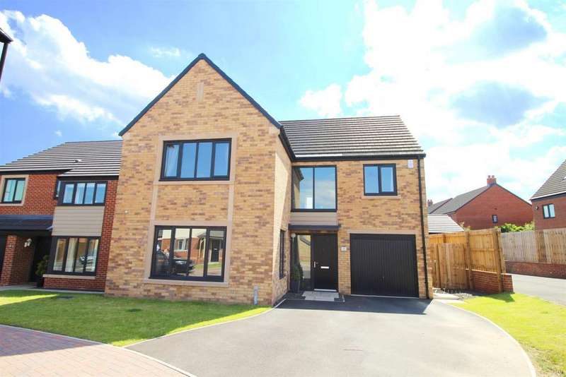 4 Bedrooms Detached House for sale in Fenchurch Close, Five Mile Park, Newcastle Upon Tyne