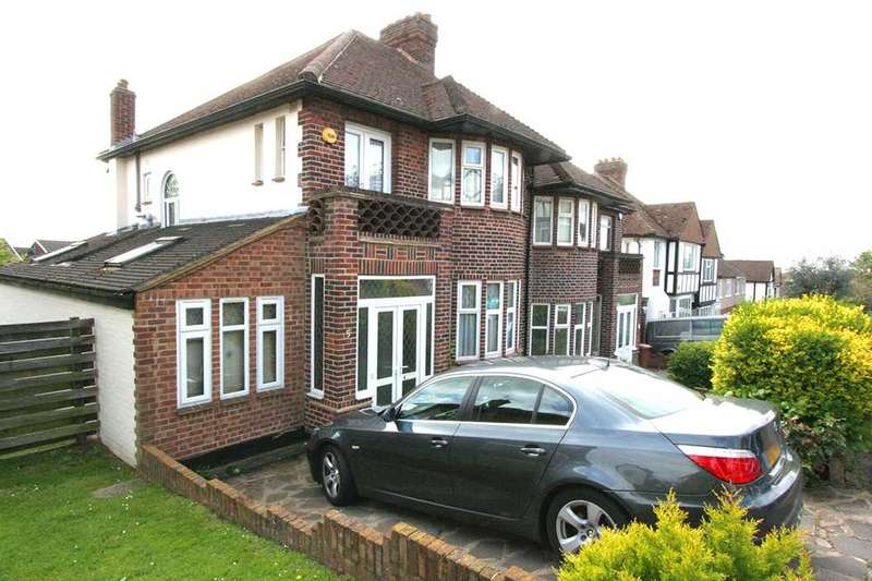 3 Bedrooms Semi Detached House for sale in Lichfield Road, Northwood
