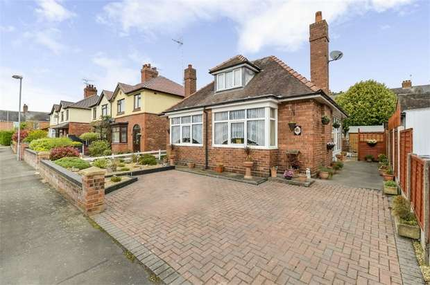 3 Bedrooms Detached Bungalow for sale in Hillfield Gardens, Nantwich, Cheshire