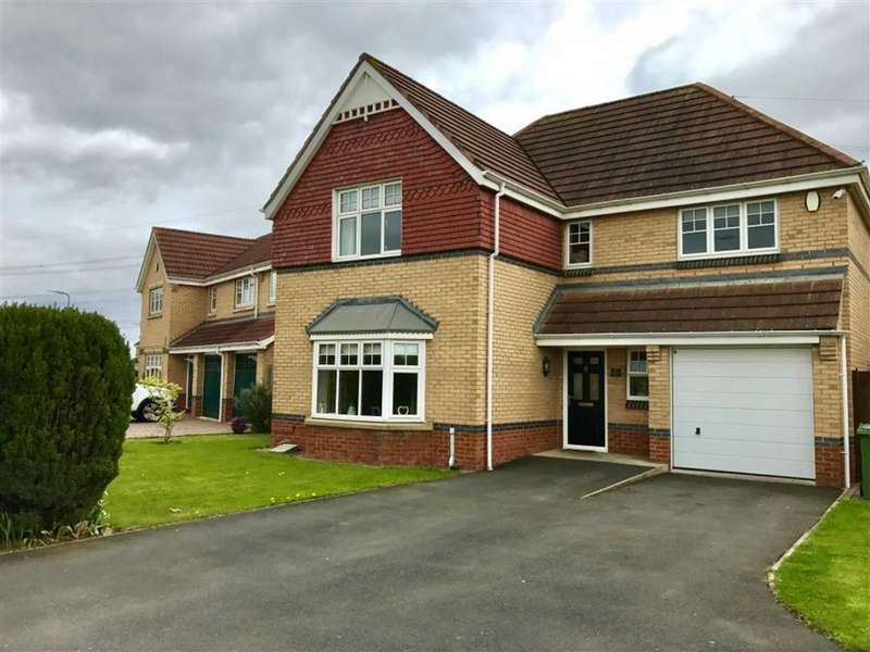 4 Bedrooms Detached House for sale in Grassholme Way, Stockton-on-Tees, Cleveland