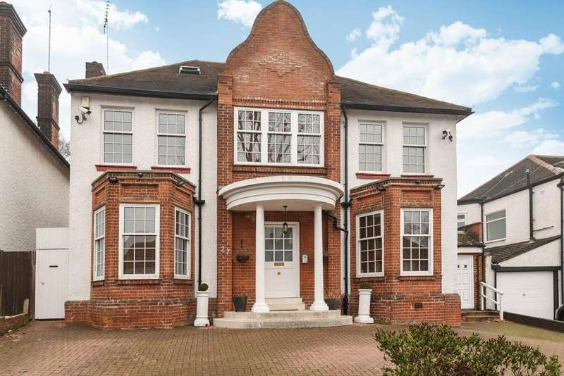 5 Bedrooms Detached House for sale in Beechwood Avenue, Finchley Central, N3
