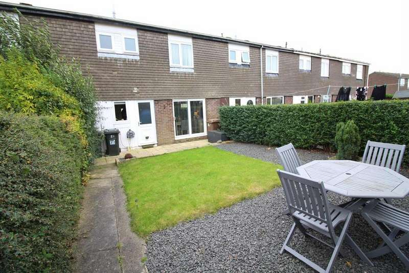 2 Bedrooms Terraced House for sale in Annitsford Drive, Dudley, Cramlington