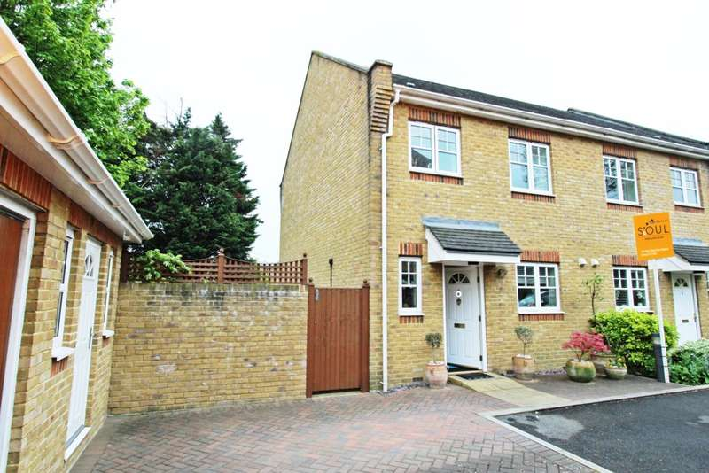 2 Bedrooms End Of Terrace House for sale in Orton Place, London