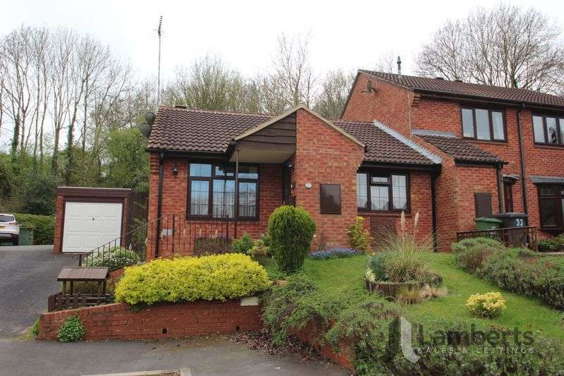 2 Bedrooms Semi Detached Bungalow for sale in Avonbank Close, Hunt End