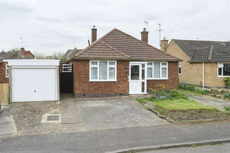 3 Bedrooms Detached Bungalow for sale in Astley Close, Market Harborough, Leicestershire