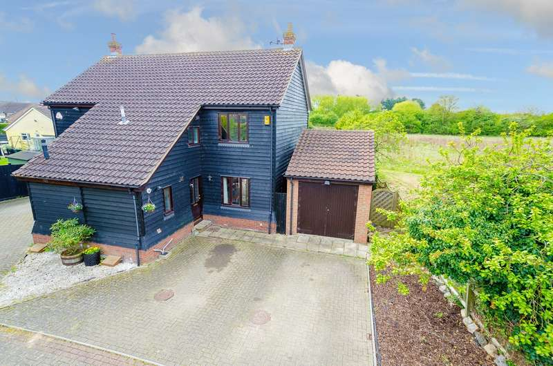 3 Bedrooms Semi Detached House for sale in Nightingale Close, Bassingbourn, Bassingbourn, SG8