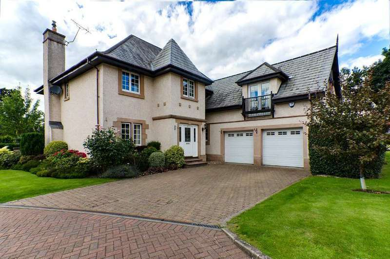 5 Bedrooms Detached House for sale in Beaconcroft, Bridge of Allan, FK9 4RX