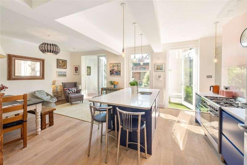 4 Bedrooms Flat for sale in Albert Mansions, Albert Bridge Road, Battersea, London, SW11