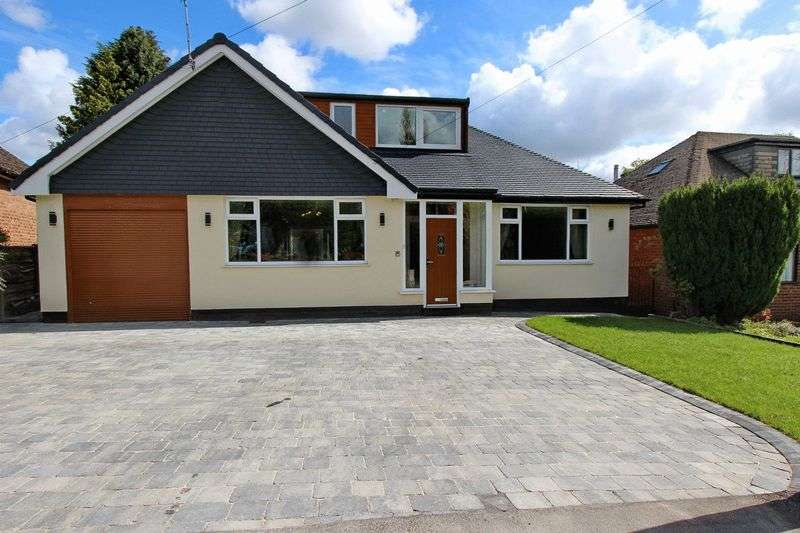 5 Bedrooms Detached Bungalow for sale in Butt Hill Road, Prestwich, Manchester