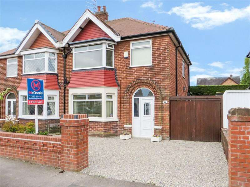 3 Bedrooms Semi Detached House for sale in Inver Road, Bispham, Blackpool