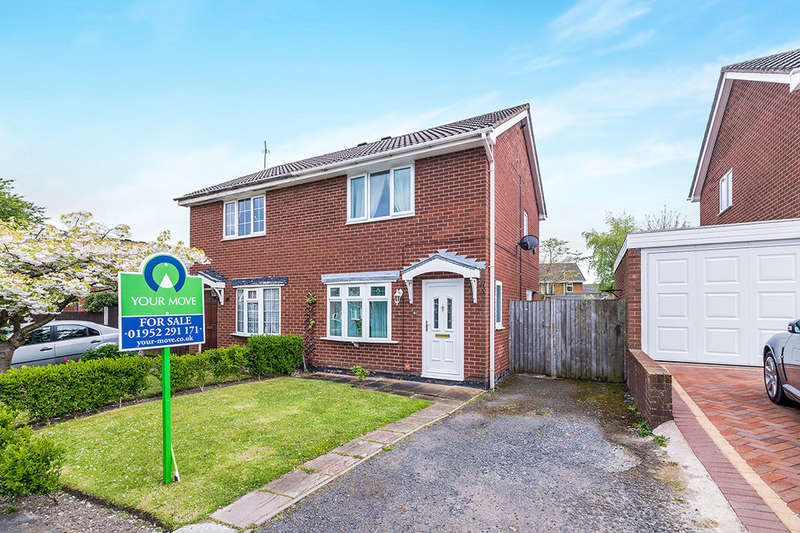 2 Bedrooms Semi Detached House for sale in Leveson Close, St. Georges, TELFORD, TF2