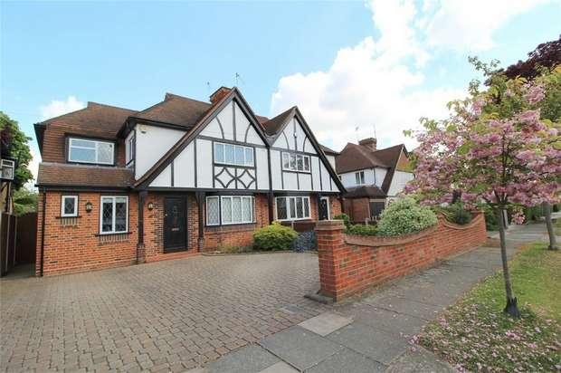 4 Bedrooms Semi Detached House for sale in Village Way, Ashford, Surrey