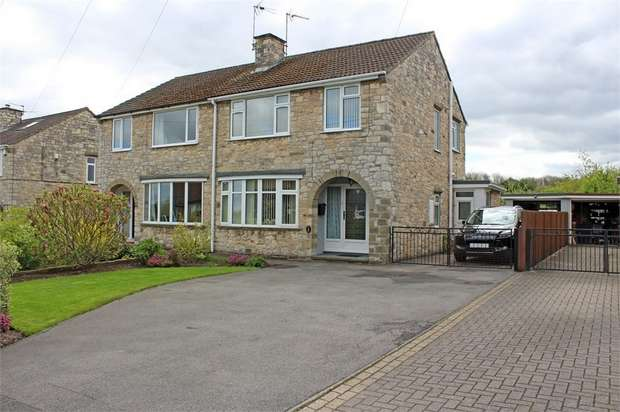 3 Bedrooms Semi Detached House for sale in Mill Lane, Stutton, Tadcaster, North Yorkshire